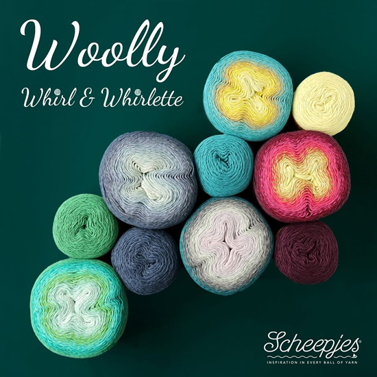 Scheepjes Woolly Whirl | Happy in Red