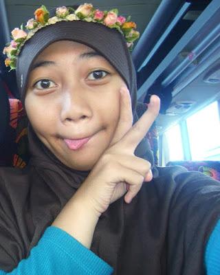 Cewek IGO Selfie Cantik hitam manis jilbab