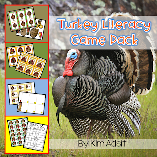https://www.teacherspayteachers.com/Product/Thanksgiving-Turkey-Literacy-Game-Pack-167124
