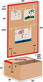 Step 1 - Art Drying Gallery