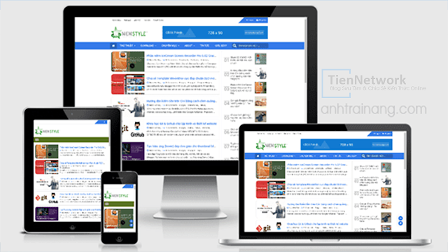 Niemstyle - Template Blogspot Premium thiết kế đẹp, chuẩn SEO, load trang nhanh