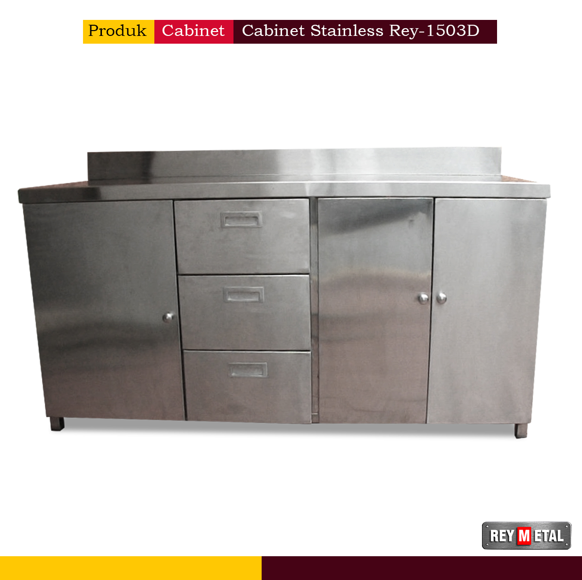 Cabinet Stainless Steel Rey-1503D