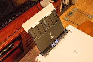 PIXUS TS6330 はもちろん背面からの給紙も可能