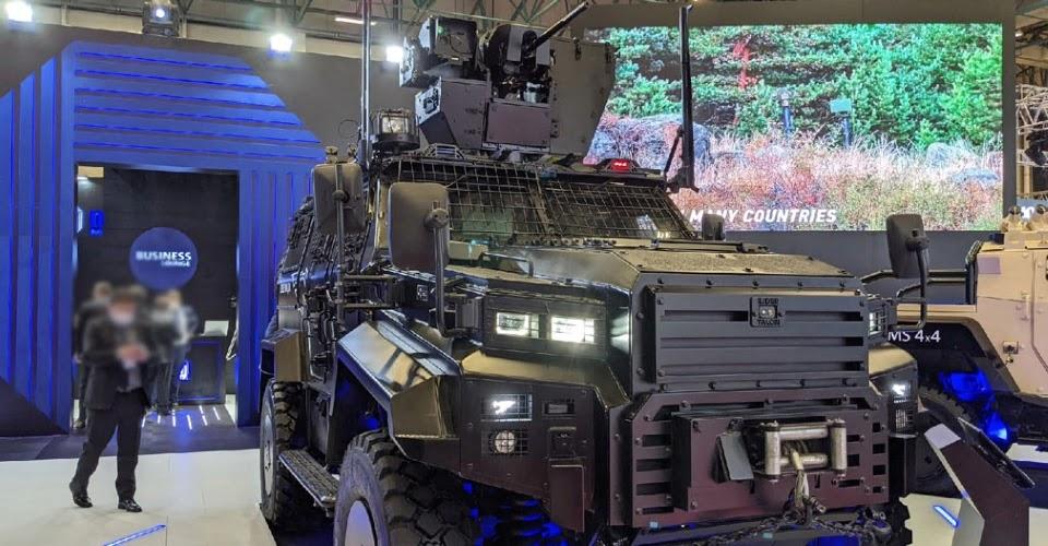 Відеоогляд міжнародної виставки озброєнь IDEF-2021
