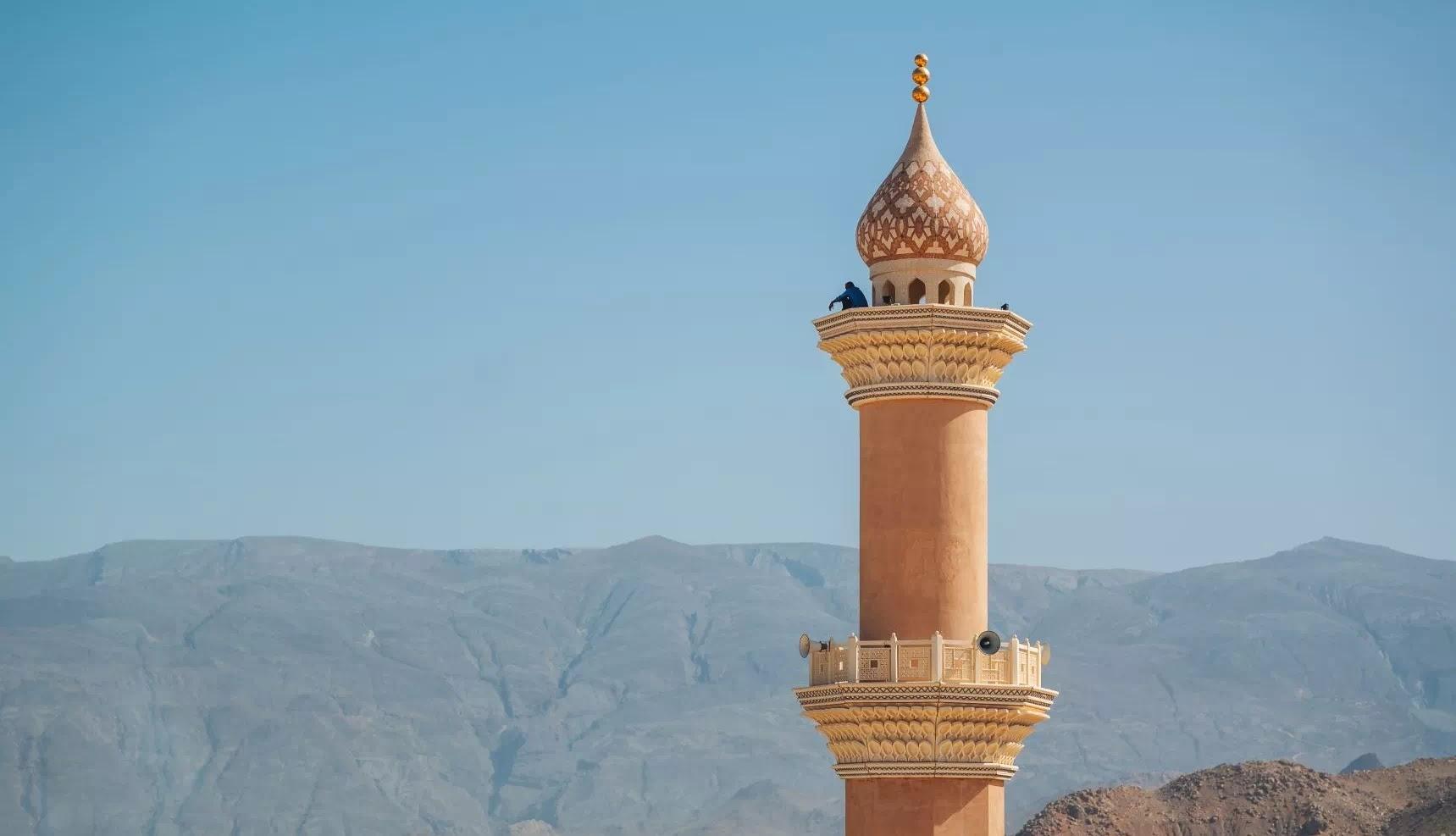 Menara Masjid di Oman