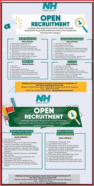 Loker Terbaru SMA Surabaya September 2019