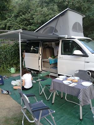 in campeggio con i bambini