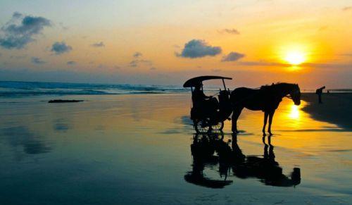 Pantai Paling Indah di Indonesia - Pantai Parangtritis, Yogyakarta