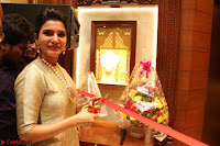 Samantha Ruth Prabhu in Cream Suit at Launch of NAC Jewelles Antique Exhibition 2.8.17 ~  Exclusive Celebrities Galleries 036.jpg
