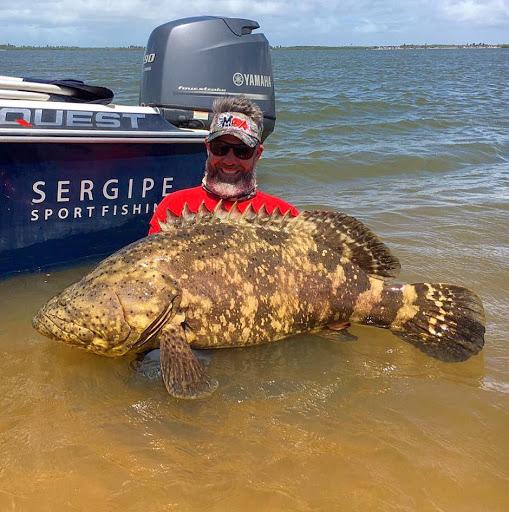 Pescaria em Aracaju e Sergipe com Thiago