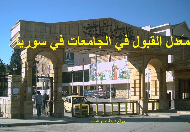 ننشر الأن مفاضلة البكالوريا سوريا 2022-2022 علمي وأدبي - معدلات القبول في الجامعات السورية ٢٠٢١ وزارة التعليم العالي الحدود الدنيا للدرجات المقبولة