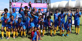 women's football in Africa COSAFA developing next generation  female players administrators