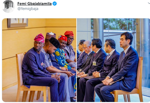 You all look unserious''- Nigerians react to photos of House of Rep members meeting with Japanese government officials without pen and notepads