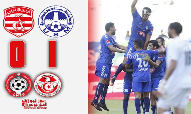 الاتحاد المنستيري يفوز النادي الافريقي بهدف ثمين وأمام جماهيره في رادس ليواصل النتائج الإيجابية