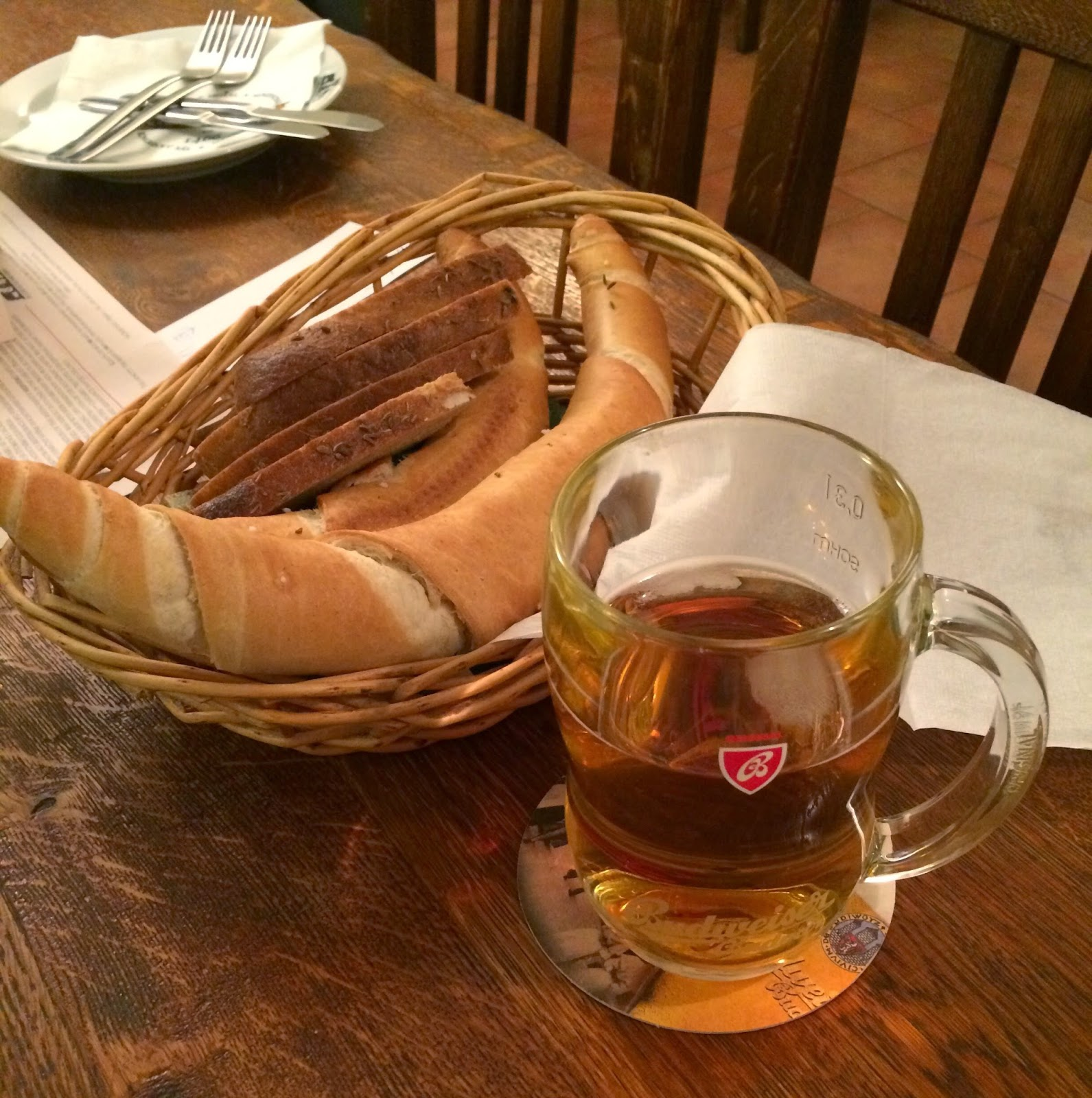 european bread and beer