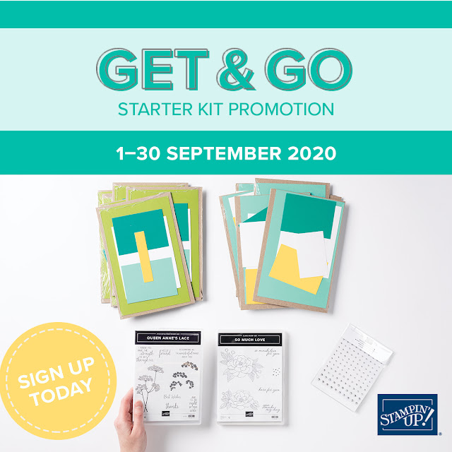 get & go starter kit promo