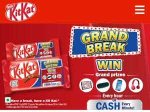 Kitkat Gran Break Offer