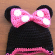 Minnie Mouse with Pink Bow