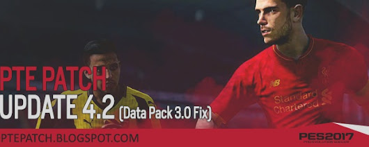 PES 2017 PTE Patch Update 4.2