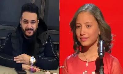"""ذا فويس كيدز """"هايدي محمد"""" شاهد رأى المشاهير بعد خروجها من the voice kids 2020"""