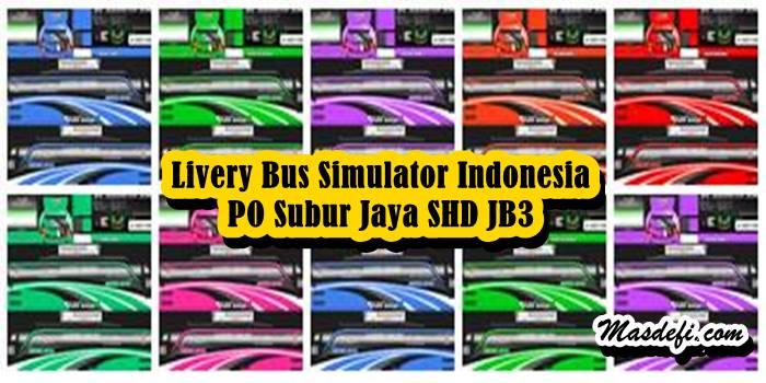 livery bussid shd subur jaya