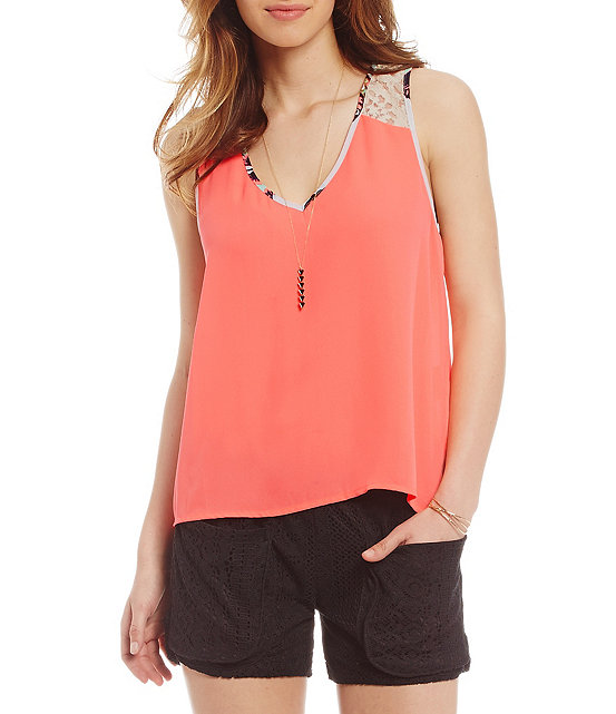 Butterfly Tank Top front