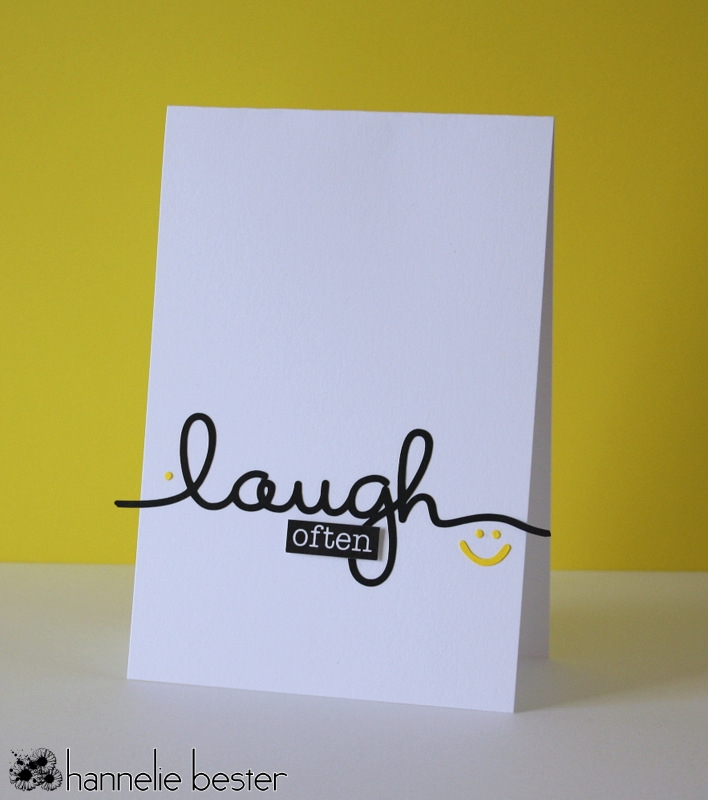 Laugh often card