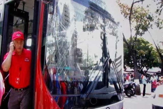 ataque al transporte
