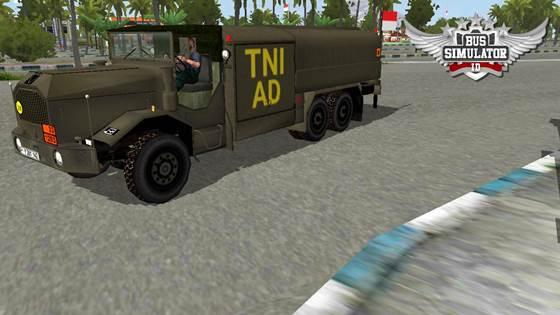 Mod Truck Tangki TNI AD