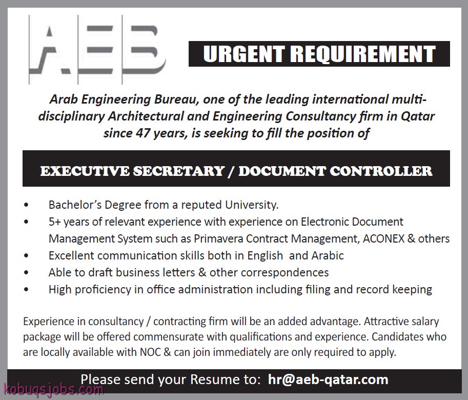 Urgent Requirement For Qatar - Gulf Jobs for Malayalees