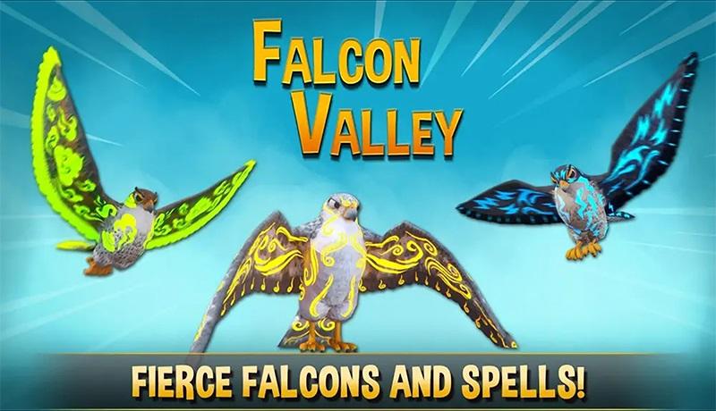 تحميل لعبة falcon valley battle سباق الصقور للاندرويد والايفون