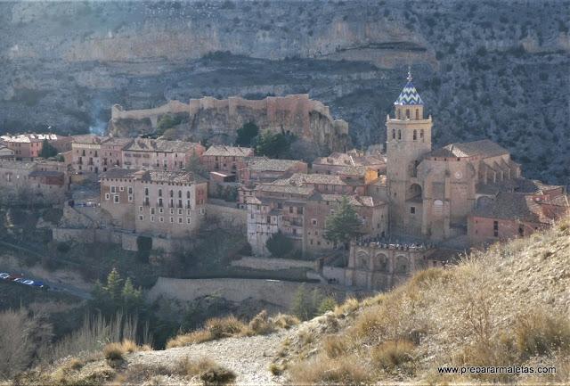 vistas desde la muralla de Albarracín