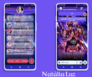 Avengers Super Hero Theme For YOWhatsApp & Fouad WhatsApp By Natalia Luz