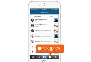 Cara menambah follow instagram