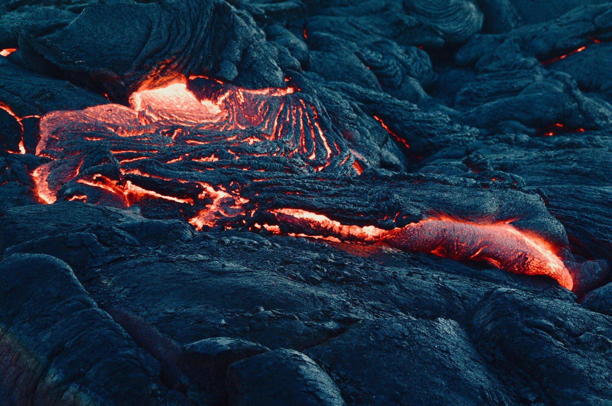Geldingadalir Vulkan mit einer Drohne gefilmt   Drohne kaputt, Aufnahme perfekt