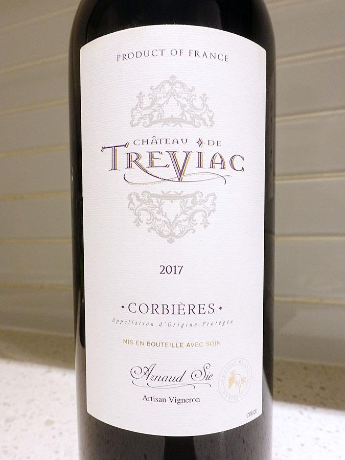 Château de Tréviac Corbières 2017 (90 pts)
