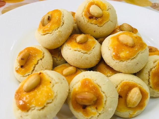 biskut mazola  biskut kacang tanah  sedap lembut  mudah disediakan blog cik matahariku Resepi Biskut Mazola Chef Hanieliza Enak dan Mudah