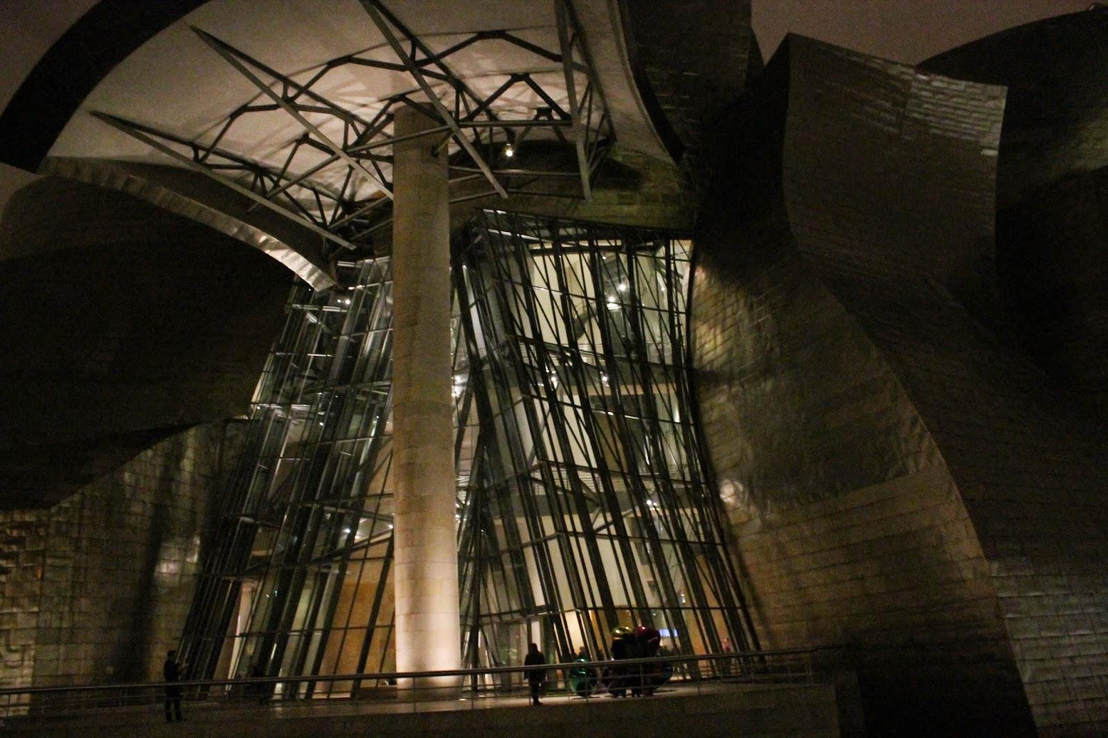 Noche en Guggenheim Bilbao