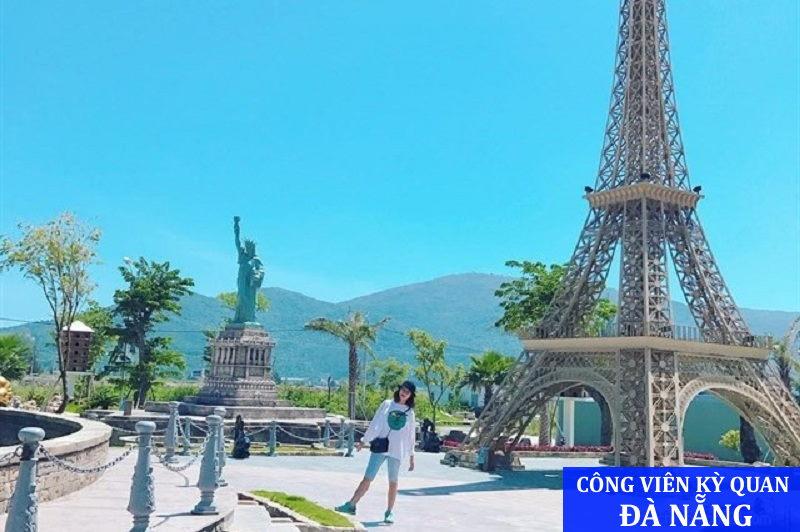 Địa điểm tham quan mới lạ - Công viên kỳ quan Đà Nẵng