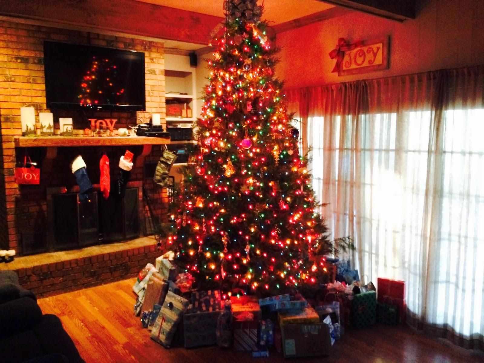 weihnachten usa kamin