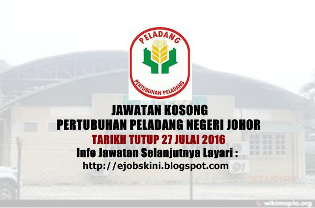 Jawatan Kosong Pertubuhan Peladang Negeri Johor