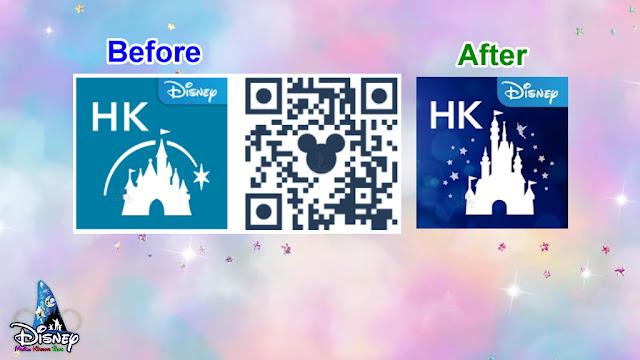 香港迪士尼樂園度假區官方手機應用程式 換上全新奇妙夢想城堡商標, HKDLR-New-App-Logo-Castle-of-Magical-Dreams