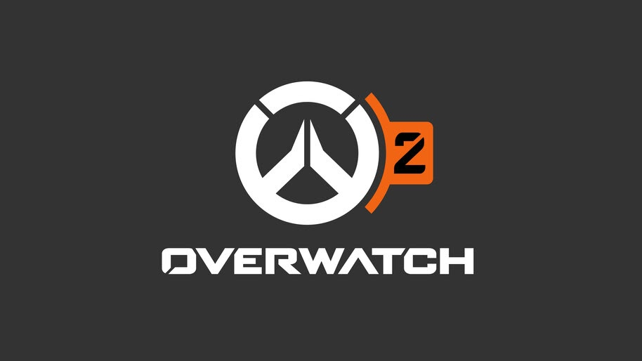 Overwatch 2, Logo, 8K, #7.264