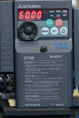 motor  frequency Mitsubishi D700
