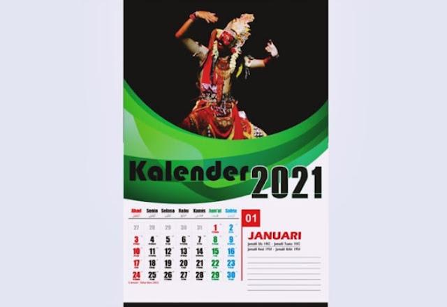template kalender dinding cdr - kanalmu