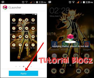 Tema Naruto Untuk Android