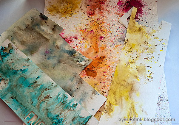 Layers of ink - Nautical Tag Tutorial by Anna-Karin Evaldsson. Paper Artsy Infusions.