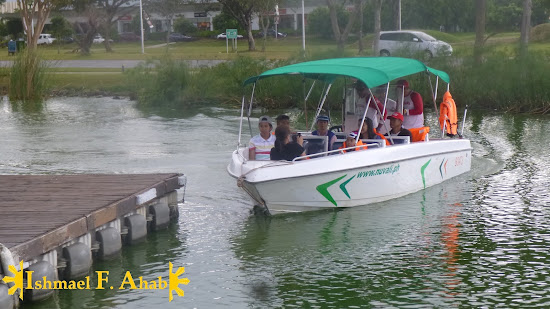 Boating at Nuvali Park
