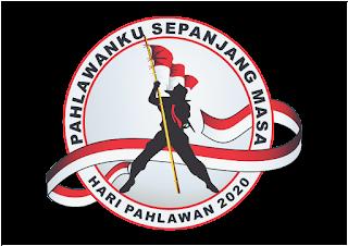logo hari pahlawan png terbaru