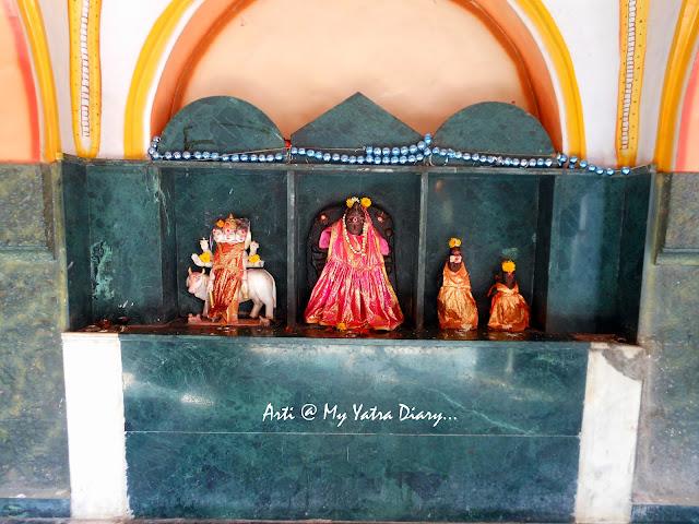 Other deities at the Bhairavnath temple, Saswad, Pune, Maharashtra